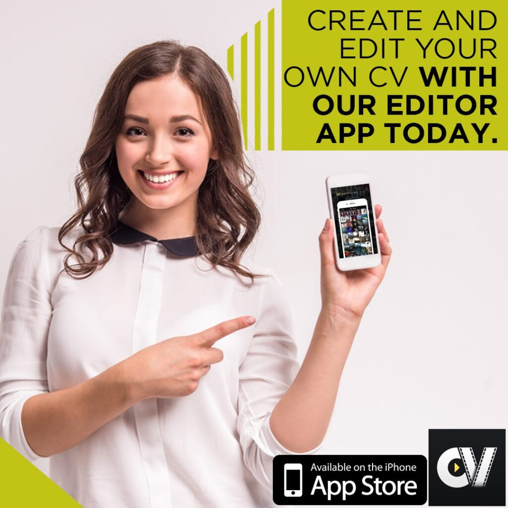 create and edit your own video cv with our editor app today