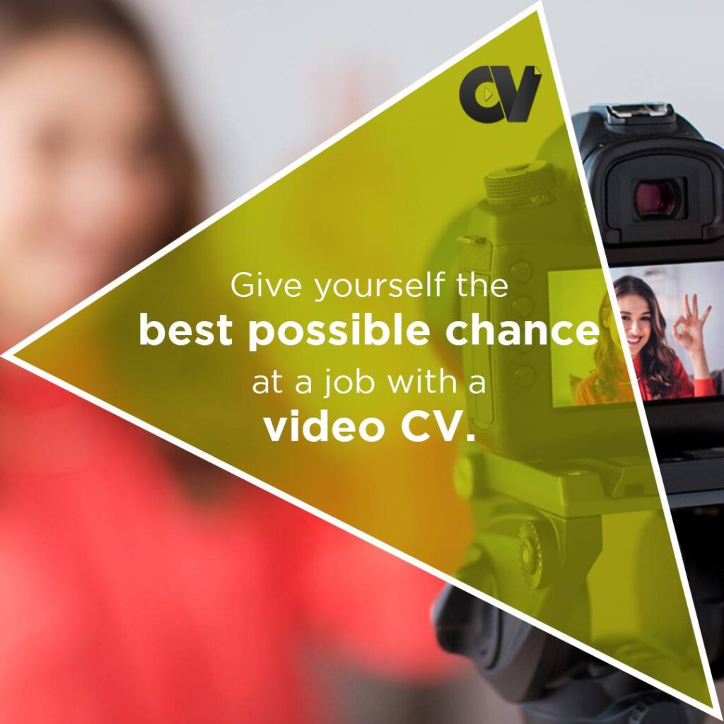 give yourself the best possible chance at a job with a video cv